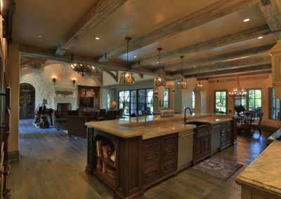 Overton-Kitchen and Family room
