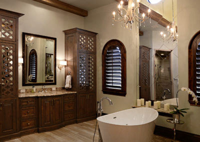 Bathroom beams